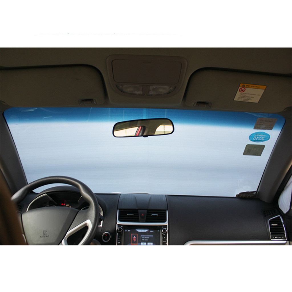 Image 4 - Car Sun Shade Auto Curtain  Windshield Snow Cover Ice Removal Wiper Visor Protector All Weather Winter Summer Sunshade Car-in Windshield Sunshades from Automobiles & Motorcycles