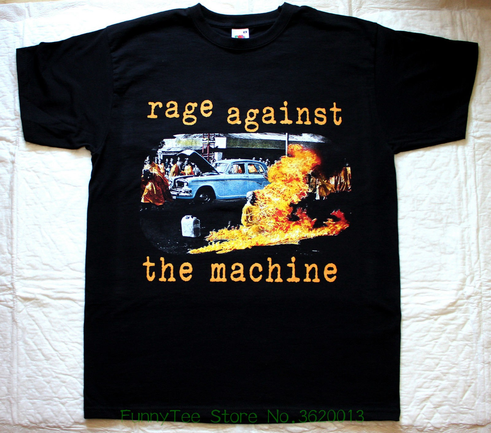 Rage Against The Machine Ratm&#039 ; 92 Audioslave Lock Up Clawfinger New Black   T  -  shirt