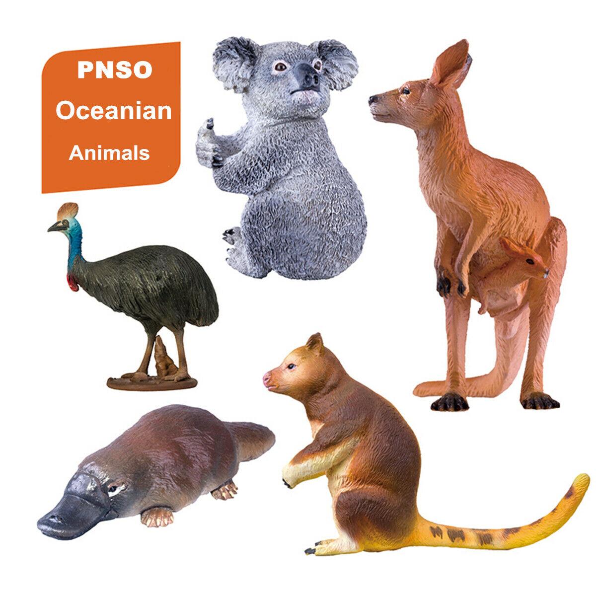 PNSO Mososaurs Mosasaurus Figure Dinosaur Animal Model Toy Collector Decor Gift