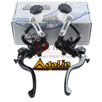 Original Adelin 17 5mmx18mm Motorcycle Brake Master Cylinder Clutch Lever 22mm Universal For Honda Yamaha Kawasaki