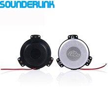 2 unids/lote Sounderlink Pequeño transductor táctil mini bass shaker bass altavoz de la vibración para cine en casa sofá del asiento de coche