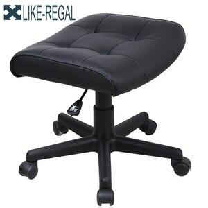 Image 5 - LIKE REGAL Silla de jefe para oficina, poltrona ergonómica para escritorio u ordenador, con reposapiés, oferta especial