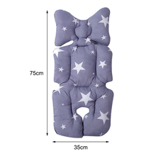 MrY 2019 New Baby Kids Soft Car Seat Stroller Cushion Pad Mat Head Body Support Pillow Baby supplies