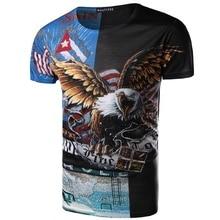 ZOGAA 2019 Summer New Mens 3DT Shirt Fashion T-Shirt Top Zombie Pattern3D Hip Hop Brand Dropshipping