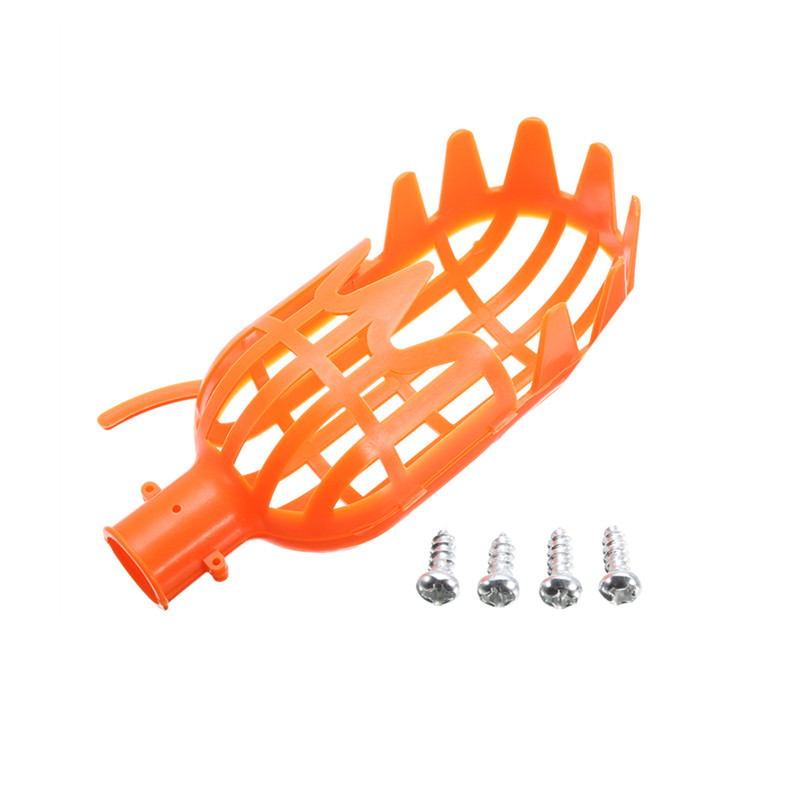 Plastic Fruit Picker Practical Small Fruit Catcher Without Pole For Cherry Lychee Orchard Gardening Picking Tool Orange