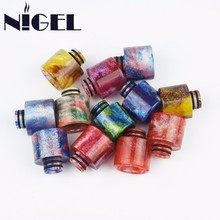 Nigel Resin Drip Tip Fit TFV8 Baby All 510 EGo Atomizer Mouth Mouthpiece For Vape Electronic