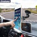 Cobao universal 9.5 9.7 10 11 14.5 polegada tablet pc estande brisa do carro navegação tablet suporte para carro para 9.7 12.9 ipad pro