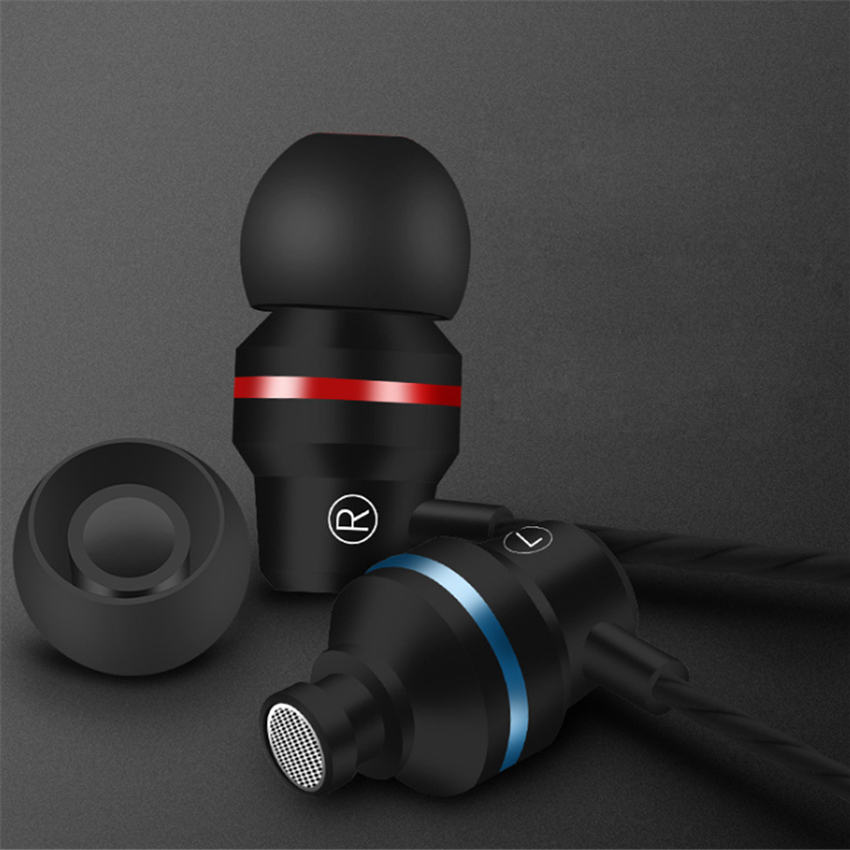 Wired Earbuds Earphone 3.5mm In Ear Earphone Earpiece With Mic Stereo Headset  For Samsung Xiaomi Phone Computer