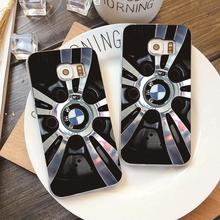 Plastic Case with BMW Alloy Wheels for iPhone