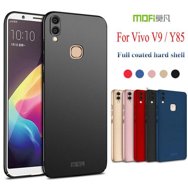 reputable site 5d481 0becc US $6.65 |Mofi For Vivo V9 Case MOFI 360 Full Protective Ultra thin Slim  Matte Hard Back Cover for Vivo V9 / Vivo Y85 Phone Capas Shell-in Fitted ...