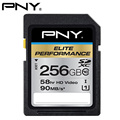 PNY SD Card Class10 256GB Class10 SDXC UHS-1 U1 High Speed Memory Card Flash Memory SD Card for Camera  DSLR and HD/3D