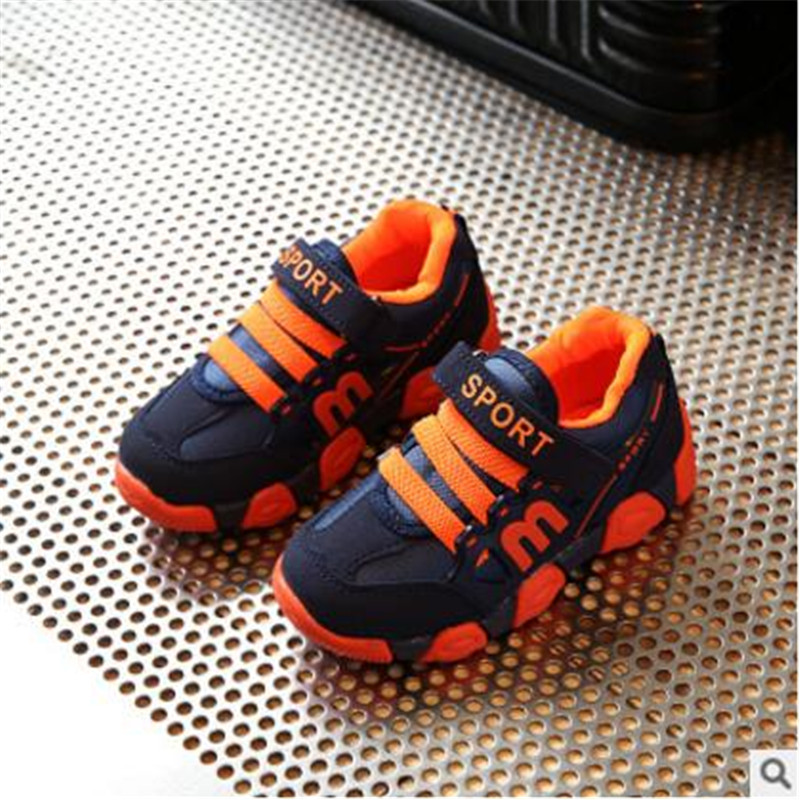2017spring children shoes thick soft child wear resistant