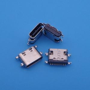 Image 2 - 50pcs For BLUBOO S1 micro mini usb jack 16 pin type C connector socket charging port replacement repair parts dock plug 16pin