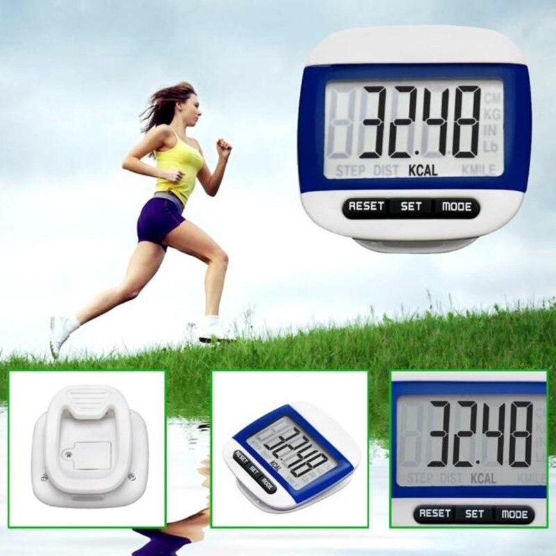 WohltäTig Lcd Digital Schritt-pedometer Walking Kalorien Zähler Abstand Laufen Gürtel Clip Neue Digitale Zähler Lauf Jogging Walking Schritt Aromatischer Geschmack Sport & Unterhaltung
