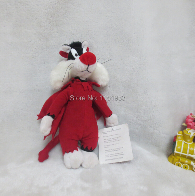 Looney Tunes All Stars Plush Toys Tweety And Sylvester Plush Toys 23cm Evil Version Red