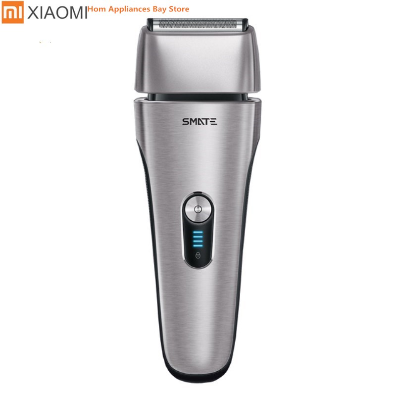 Xiaomi Mijia Smate Electric Razor Reciprocating 4 Blade i- Shaver 3 Minute Fast Charge 4-Shaver Dry and Wet Waterproof