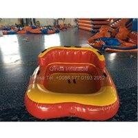 Надувной плавучий надувной диван надувная вода Crazy UFO серфинг лодка Надувное НЛО бампер автомобиль игра воды