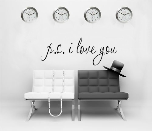 P.s. I Lobe You Loving Casa Wall Decal Removable Vinyl Wall Stickers Quote  Bedroom Home Decor  In Wall Stickers From Home U0026 Garden On Aliexpress.com  ...
