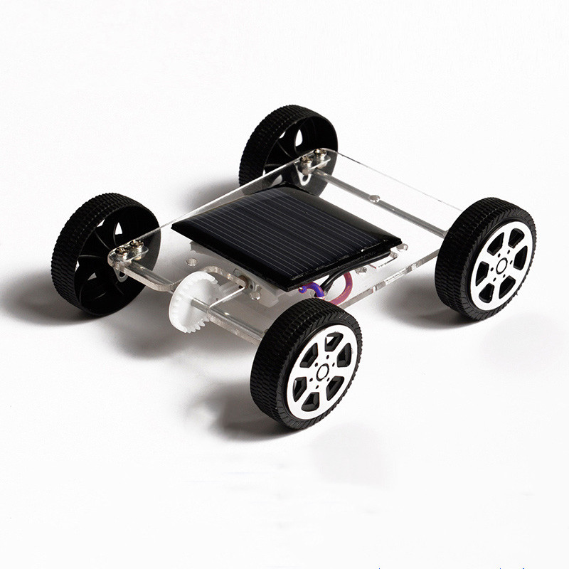 Toys for children High Quality Smalle Mini Car Solar Power Toy Racer Educational Gadget Children Kid's Toys Fashion Baby