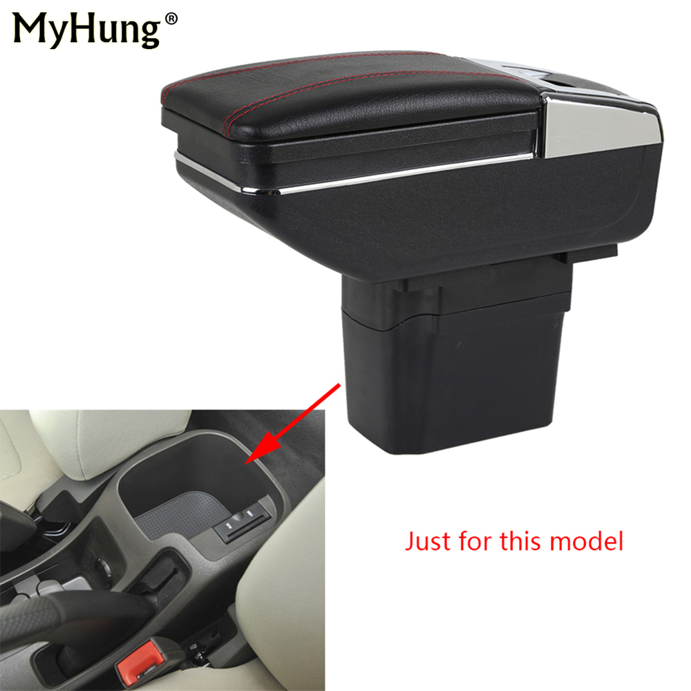 Car Console Armrest Box For Chevrolet Cruze 2009-2014 Auto Central Storage Box With Cup Holder Ashtray Car Arm Rest Rotatable armrest box for chevrolet cruze 2009 2014 central console arm store content box cup holder ashtray pu car styling accessories