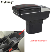 Car Console Armrest Box For Chevrolet Cruze 2009 2014 Auto Central Storage Box With Cup Holder Ashtray Car Arm Rest Rotatable