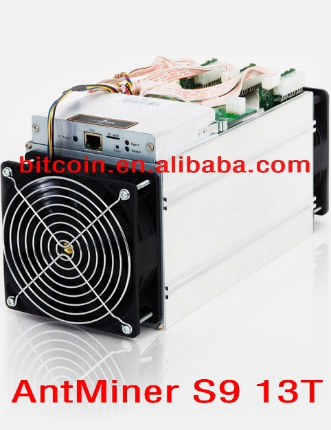 Bitmain AntMiner S9 13 TH/s 13000GH/s Asic Miner Bitcon Miner 16nm BTC Mining Power Consumption 1300W SHA256 BM1387 chip