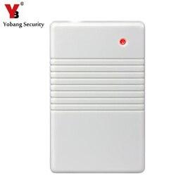 Yobang bezpieczeństwa bezprzewodowy regenerator sygnału silniejszy sygnał dla system alarmowy do domu 433 MHz regenerator sygnału w Centrale alarmowe od Bezpieczeństwo i ochrona na