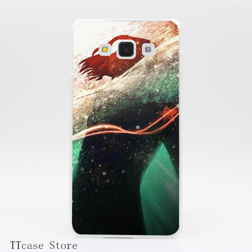 3751CA The Winter Soldier Transparent Hard Cover Case for Galaxy A3 A5 A7 A8 Note 2 3 4 5 J5 J7 Grand 2 & Prime
