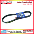 Gates Powerlink Drive V-Belt 729x17.5 for GY6 50cc 139QMB Engine Chinese Scooters ATV and Go Kart Baotian Sunl Roketa Romet Baja