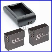 Sj4000 sj 4000 batterie (2-pack) + chargeur pour sjcam 4000 sj4000 sjcam4000 wifi action caméra étanche caméra accessoires