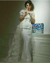Robe De Soiree Arabische Abendkleider Mit Applique Bow Bodenlangen Party Kleider Vestidos Para Festa Sexy Lange Abendkleid