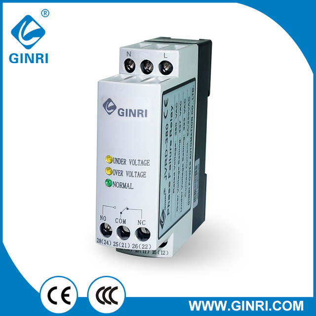 GINRI SVRD single phase electric motor overload protection relaysin