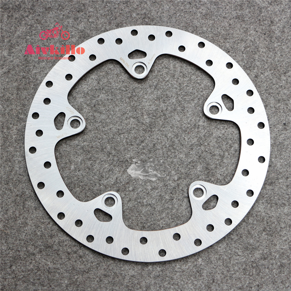 Rear Brake Disc Rotor For BMW S1000XR 15-16 & R NINE-T 1200 14-15 Motorcycle New 5 holes rear brake disc rotor for bmw r 1200 gs 2013 2014