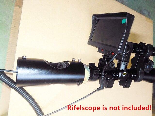 Diy digitale infrarot kamera zielfernrohr nachtsichtgerät mit