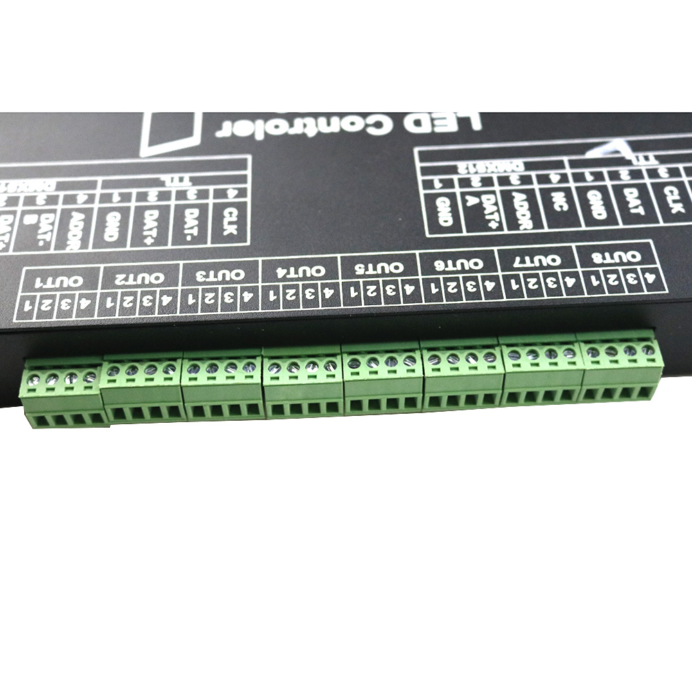 M 8000 PROGRABLE 8096PIXEL MUSIC LED CONTROLLER FOR WS2812B WS2801 SK6812 LIGHT ROPE TAPE STRIP MODULE Dream Color Strip bar - 3