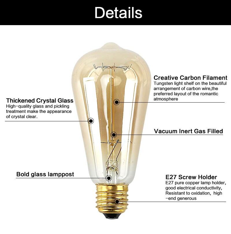 эдисон светильник с доставкой в Россию