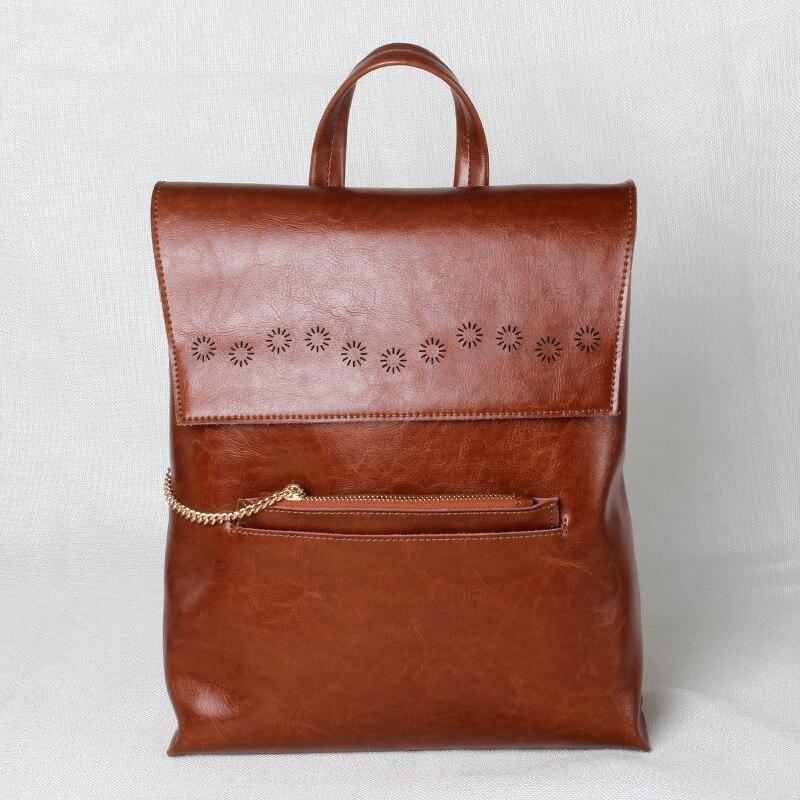 ФОТО Luxury Brand Quality Women Genuine Leather Backpack for Girls College Fashion Backpacks Crocodile Back Pack Daily Backbag