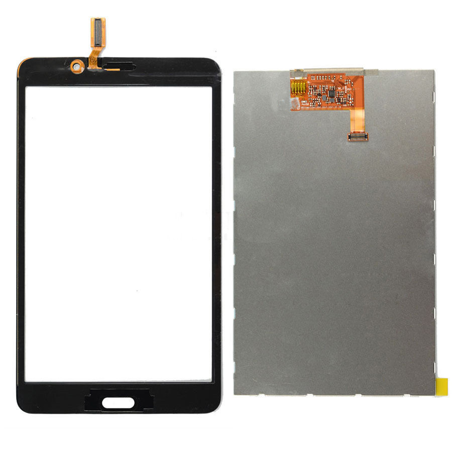 LCD Display Monitor Screen Panel + Touch Screen Sensor Glass Digitizer for Samsung Galaxy Tab 4 7.0 T230 SM-T230 T231 SM-T231 free shipping touch screen with lcd display glass panel f501407vb f501407vd for china clone s5 i9600 sm g900f g900 smartphone