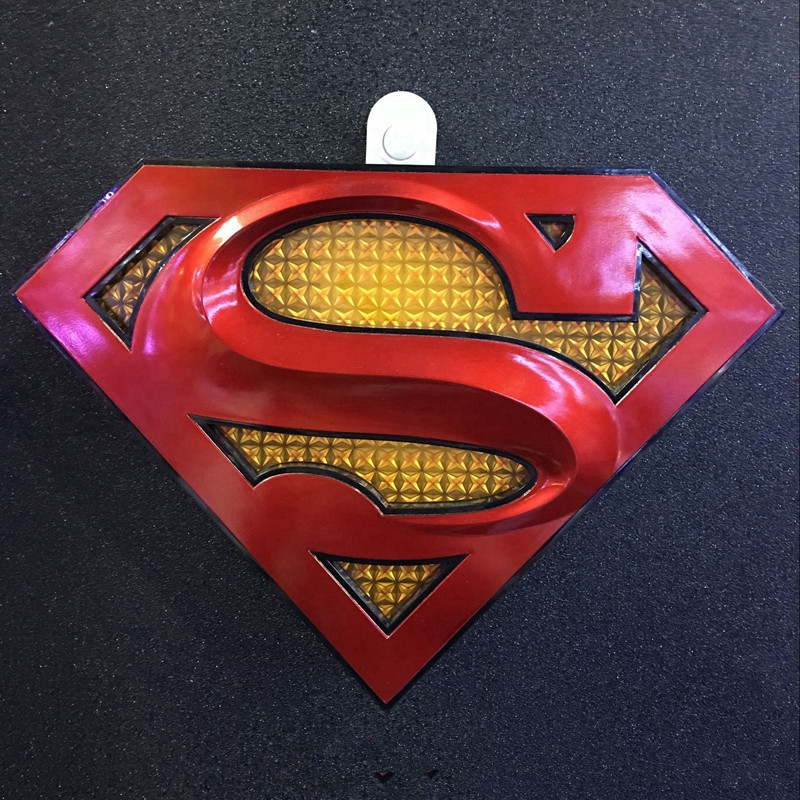 La Justice League Superman avec lumière LED Avengers: Infinity War Superhero veilleuse Henry Cavill Action Comics applique murale L1317