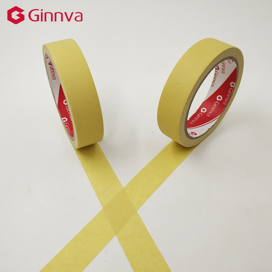 yellow masking tape 30meter long good for car painting wall painting nail painting decoration in. Black Bedroom Furniture Sets. Home Design Ideas