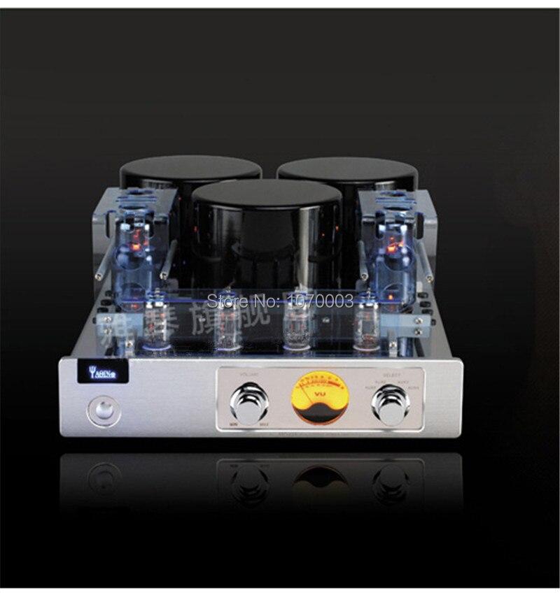 bilder für YAQIN MC-13S Integrierten Röhrenverstärker Klasse AB1 Leistungsverstärker 6CA7T * 4 SRPP-SCHALTUNG 40 Watt * 2 110 V/220 V