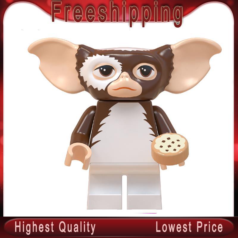 Gizmo  Gremlins Stitch ET Elliott Angie Stay Puft Finn Stripe  Building Blocks Toys For Children Gift WM822
