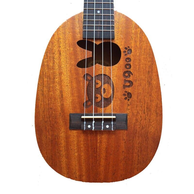 21 Inch Ukulele MINI Acoustic Guitar Mahogany Rabbit Pineapple 12 Frets Acoustic Guitar Musical Instruments Professional US BOTU in Ukulele from Sports Entertainment