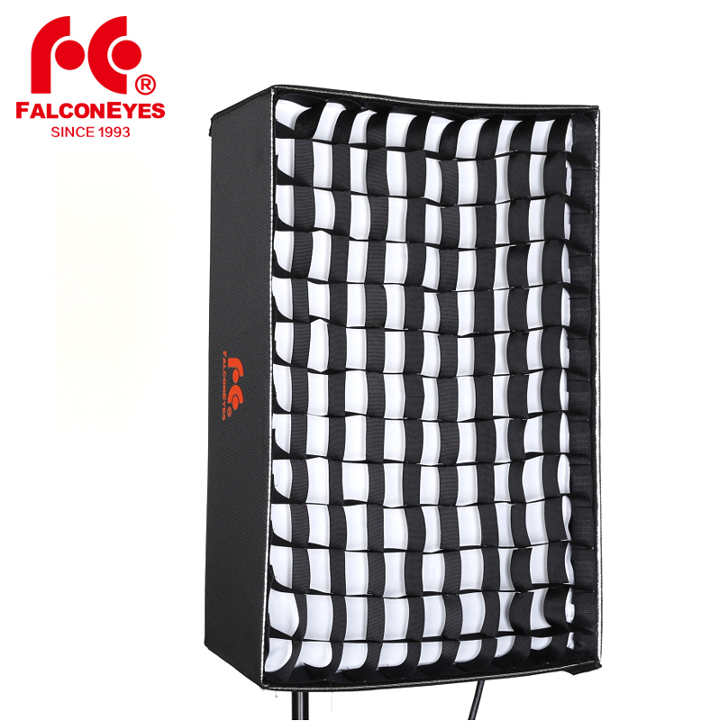 Falcon Eyes Foldable HoneyComb Grid Softbox for Roll Flex LED Light RX 9T RX 9TD RX