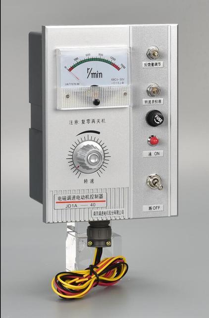 Motor governor JD1A-40 electromagnetic governor motor speed controller 220v adjustable speed