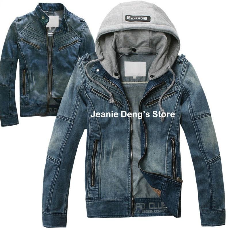 Popular Hooded Jean Jacket for Men-Buy Cheap Hooded Jean Jacket