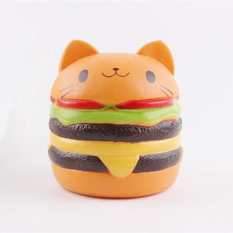 Gadgeturi Mokuru Sagi Squishy Hamburger Pudcoco Jucărie Figura - Produse noi și jucării umoristice