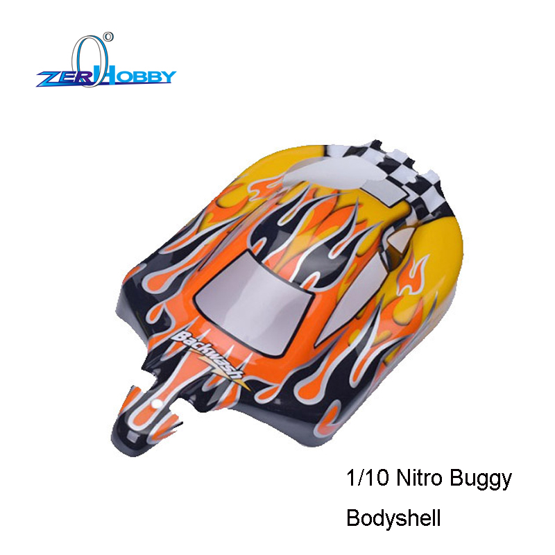 2PCS RC CAR BUGGY BODY SHELL 31*17.6 HSP OFF ROAD HOBBY REMOTE CONTROL 1/10 NITRO RC CAR BODYSHELLS FOR MODEL 94105 94106 94166 2pcs rc car 1 10 hsp 06053 rear lower suspension arm 2p for 1 10 4wd rc car hsp 94155 94166 94177