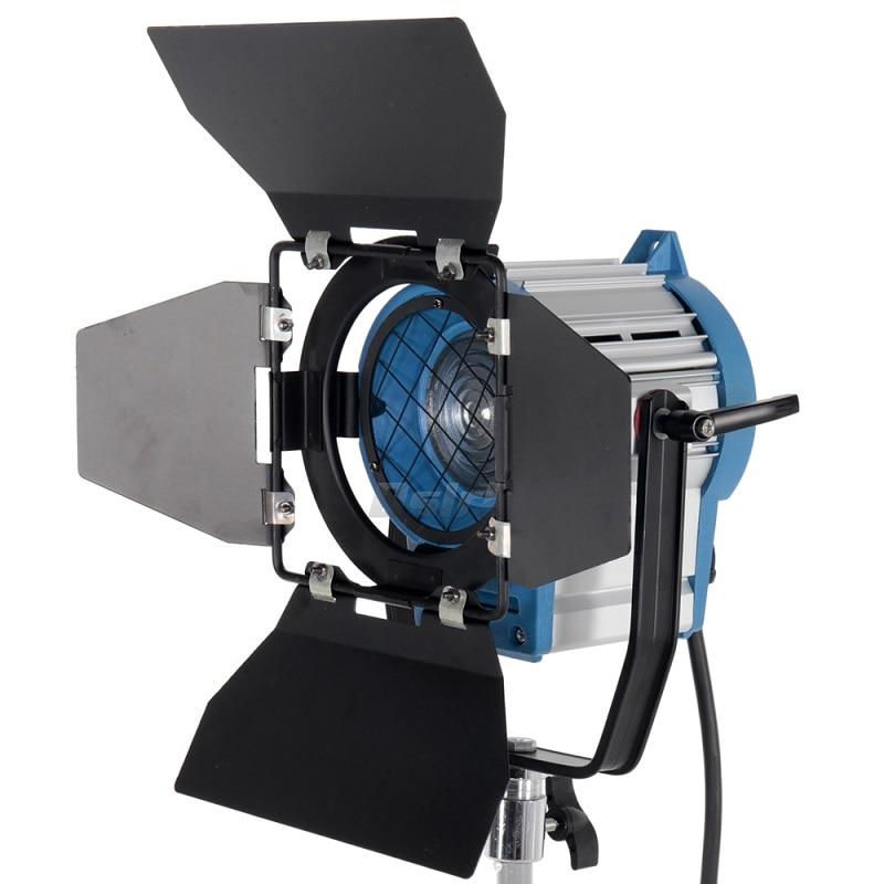 Photographic Equipment 300W Fresnel Light Tungsten Spotlight Lighting for Studio Video Bulb Barndor camera Free Shipping