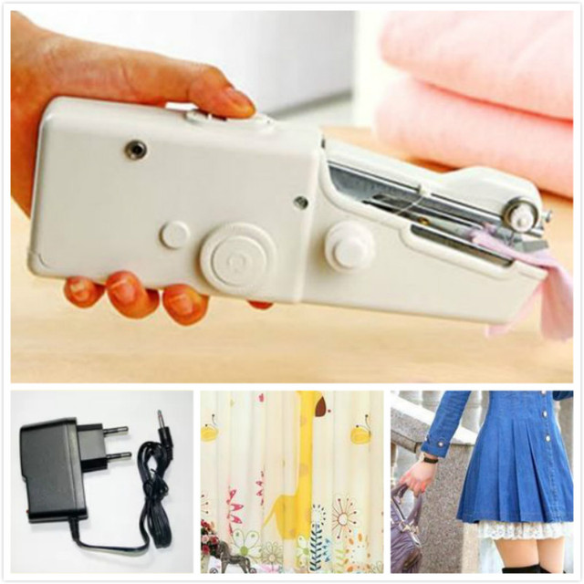 PORTABLE Electric Sewing Machine Manual Tailor Household With Power